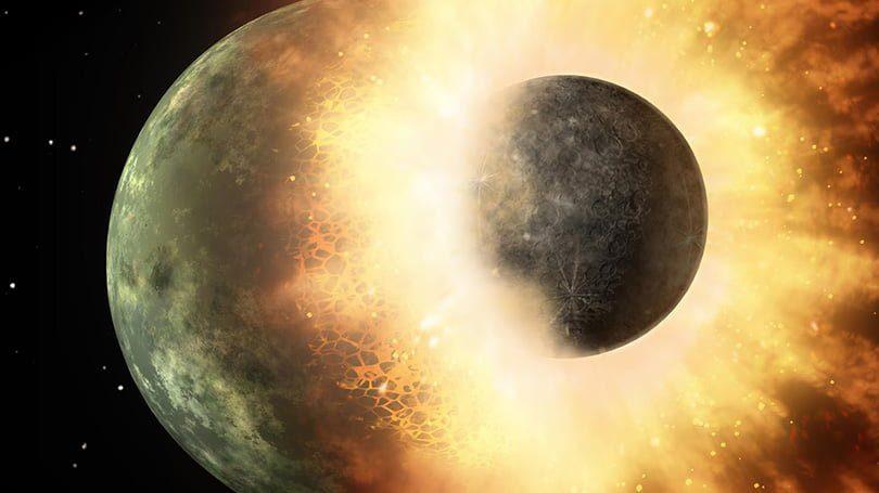 bagaimana cara bulan terbentuk satelit alami bumi
