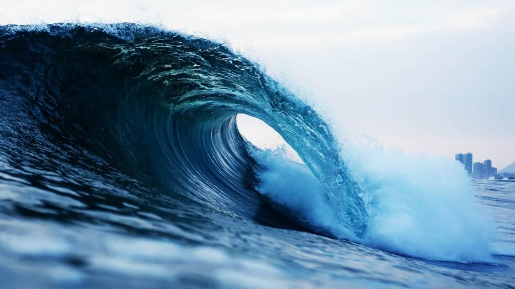 ombak laut