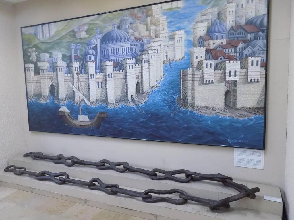 masa kejayaan islam tembok konstantinopel sulit ditembus