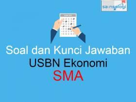 Latihan Soal USBN Ekonomi SMA